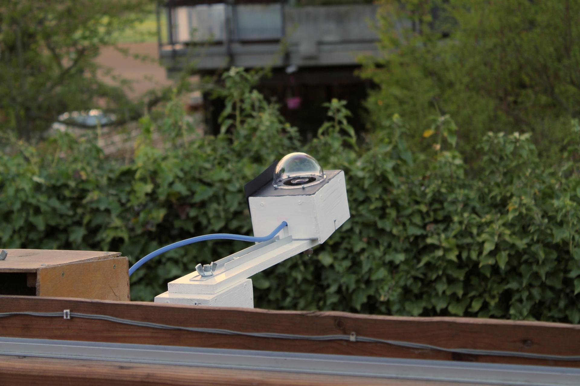 All-Sky Kamera an der Sternwarte